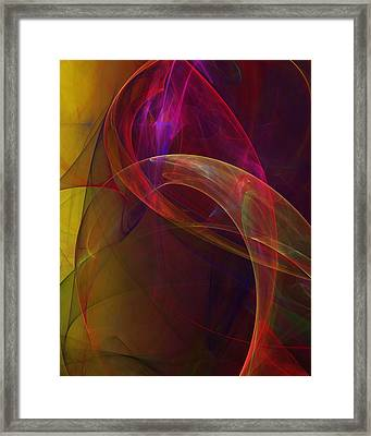 Dreams Of Fish And Other Things Framed Print