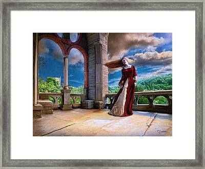 Framed Print featuring the painting Dreams Of Heaven by Dave Luebbert