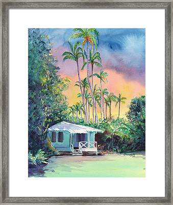 Dreams Of Kauai Framed Print by Marionette Taboniar