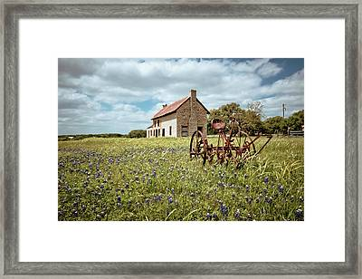 Framed Print featuring the photograph Dreams Of Long Ago by Linda Unger