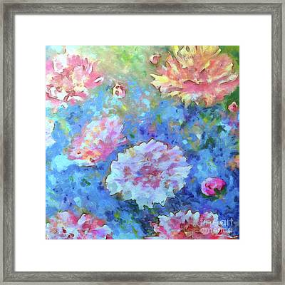 Framed Print featuring the painting Dreams Of Love by Claire Bull