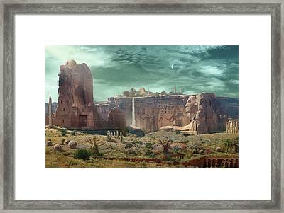 Dreams Of Orion Framed Print by Bill Jonas