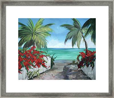 Dreams Of St. John Framed Print