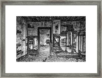 Framed Print featuring the photograph Dreams Of The Past by Darren White