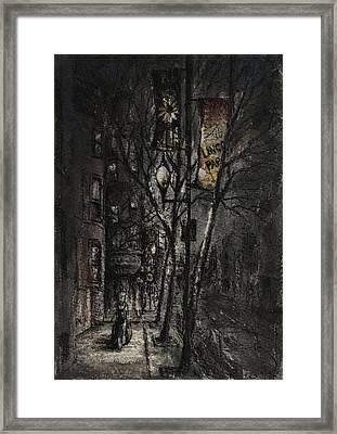 Dreams On A Walk Framed Print by Rachel Christine Nowicki