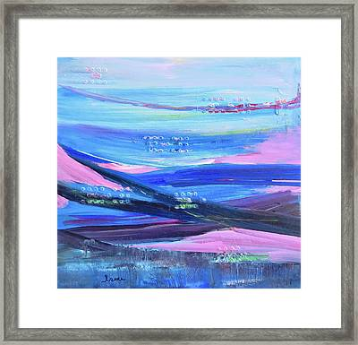 Framed Print featuring the painting Dreamscape by Irene Hurdle