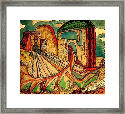 Dreamscape Framed Print by Lee M Plate