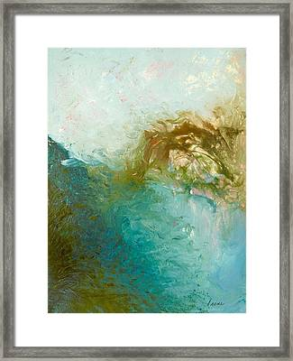Framed Print featuring the painting Dreamstime 3 by Irene Hurdle