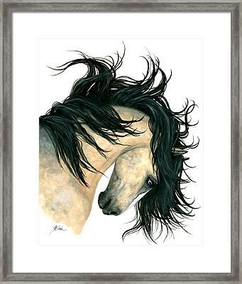 Dreamwalker Buckskin Horse Framed Print