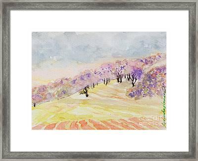 Dreamwood Framed Print by Lucinda  Hansen