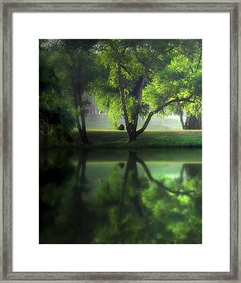 Dreamy Afternoon Framed Print by Cecil Fuselier