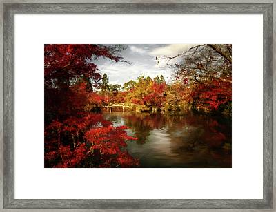 Dreamy Autumn Impressionism Framed Print