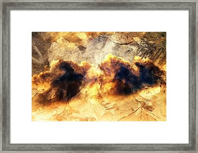 Dreamy Clouds Framed Print