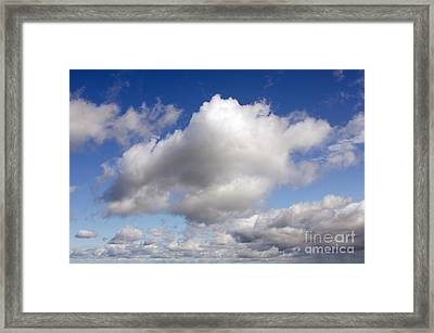Dreamy Clouds Framed Print by Jennifer Booher
