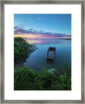 Dreamy Colors Of The East Framed Print