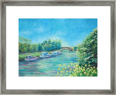 Framed Print featuring the painting Dreamy Days by Elizabeth Lock