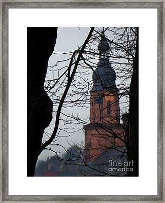 Dreamy Heidelberg, Germany Framed Print by Al Bourassa