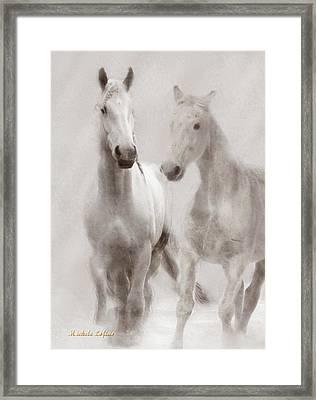 Dreamy Horses Framed Print
