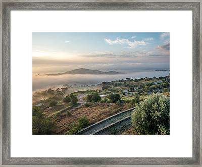 Dreamy Landscape Framed Print