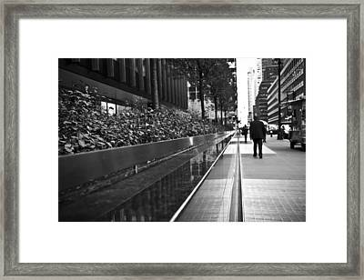Dreamy Manhattan  Framed Print by Zarija Pavikevik