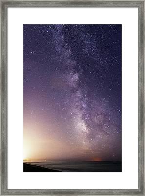 Dreamy Milky Way Framed Print