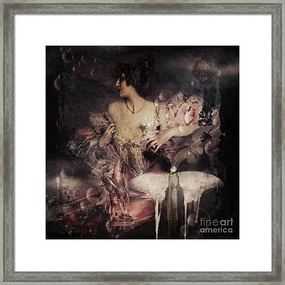 Dreamy Framed Print by Monique Hierck