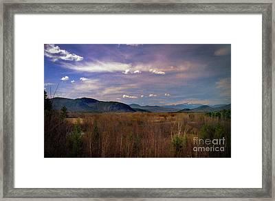 Dreamy New Hampshire Framed Print