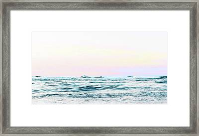 Dreamy Ocean Framed Print