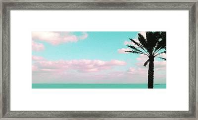 Dreamy Ocean View Framed Print