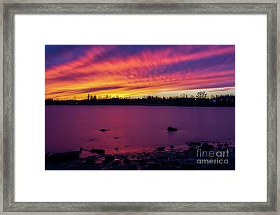 Dreamy Reflection Framed Print