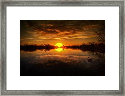 Dreamy Sunset II Framed Print