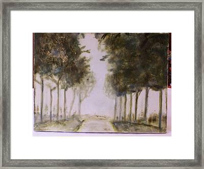 Dreamy Walk Framed Print by Karla Phlypo-Price