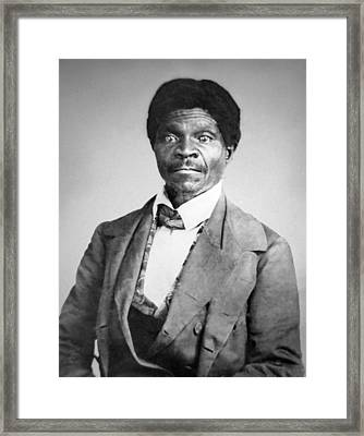 Dred Scott Framed Print by War Is Hell Store