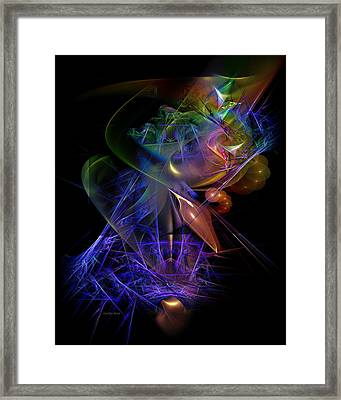 Drenched In Color Framed Print by Carolyn Staut