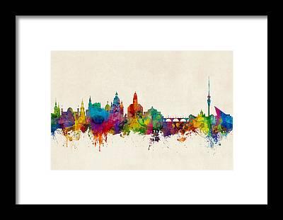 Dresden Framed Prints