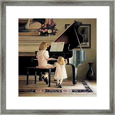 Dress Rehearsal Framed Print