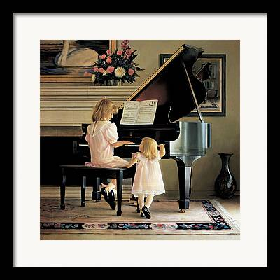 Grand Piano Framed Prints