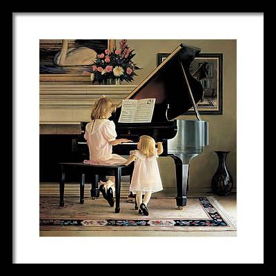 Piano Framed Prints