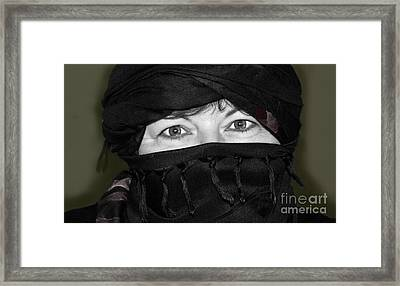 Dressed For The Sand And Sun Framed Print
