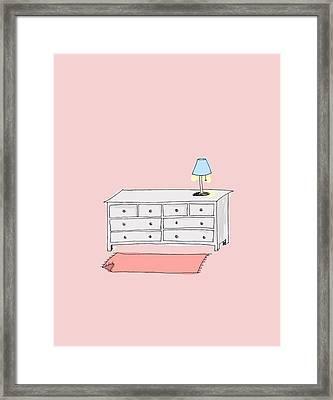 Dresser Framed Print