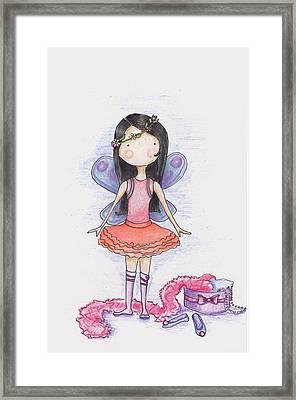 Dressing Up Framed Print by Sarah LoCascio