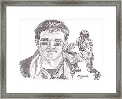 Drew Brees Framed Print
