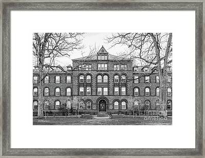 Drew University Hoyt Bowne Hall Framed Print by University Icons