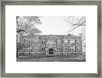 Drew University Seminary Hall Framed Print