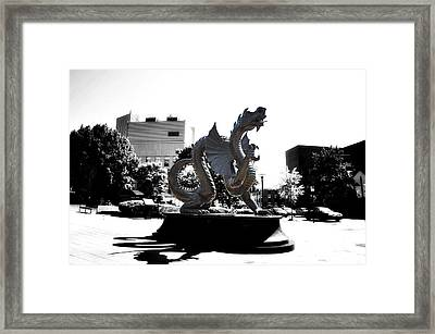 Drexel Dragon Framed Print by Bill Cannon