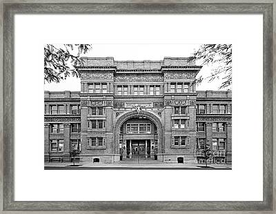Drexel University Main Building Framed Print by University Icons