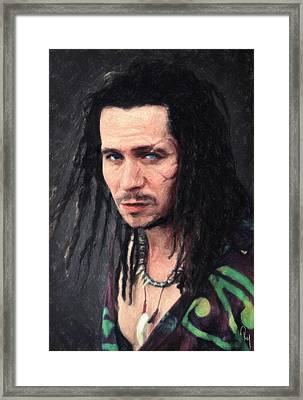 Drexl Spivey Framed Print by Taylan Apukovska