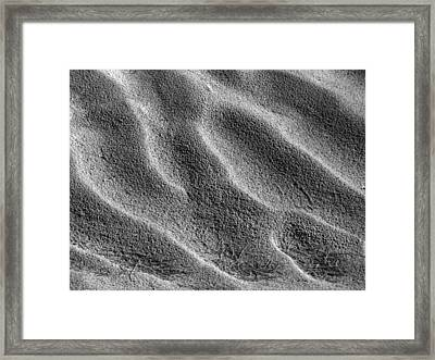 Dried Mud 7 Framed Print by Mike McGlothlen