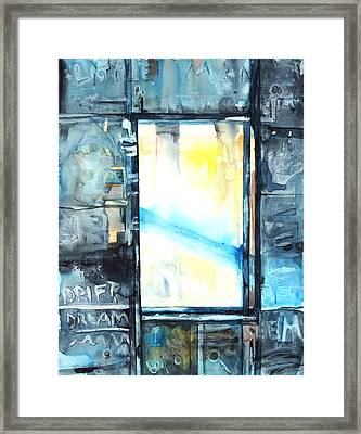 Drift Dream I Was There Framed Print by Patricia Allingham Carlson