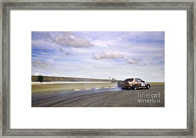 Drifting At Abbeville Framed Print by Andy Smy
